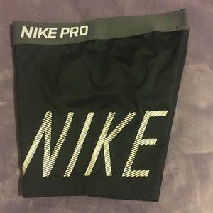 Two Nike Pro Spandex